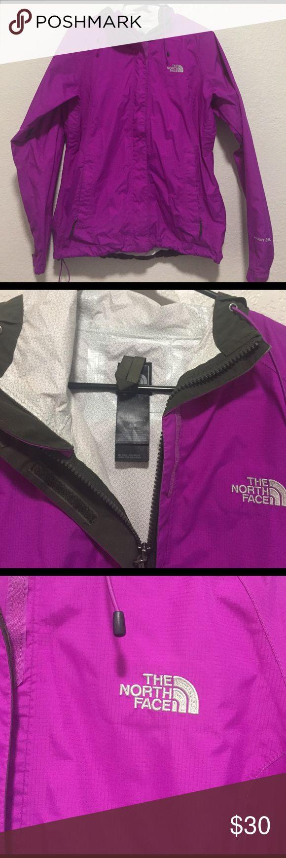 Small purple/fushia north-face windbreaker Light weight windbreaker jacket from North Face. It is in nearly perfect condition. North Face Jackets & Coats