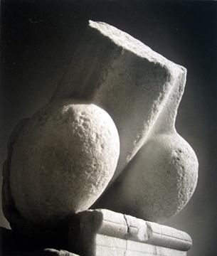 "Herbert LIST  (German, 1903-1975)    17. ""Archaic Phallus, Delos, Greece"" 1937   printed 1988 silver gelatin print, 12 x 16"""