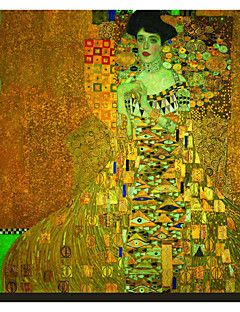 Mrs Adele Bloch-Bauer 1907 by Gustav Klimt Famous Stretched ... – AUD $ 35.74