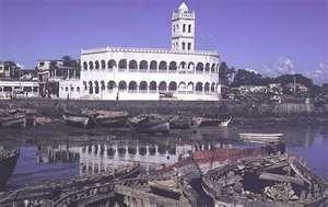 Moroni, capital of Comoros Island off the eastern coast of Africa