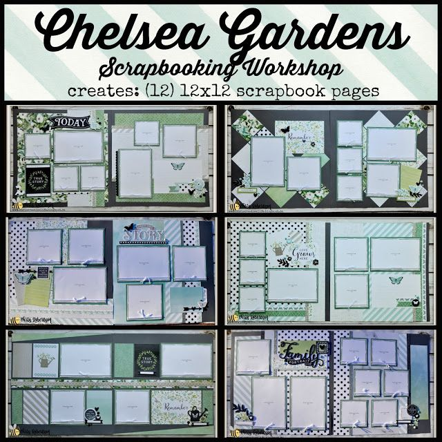 Chris' Creative Life: Chelsea Gardens Scrapbooking Workshop