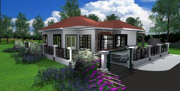 Three Bedroom Bungalow House Design In Kenya Muthurwa Com In 2020 House Designs In Kenya Bungalow House Design House Design