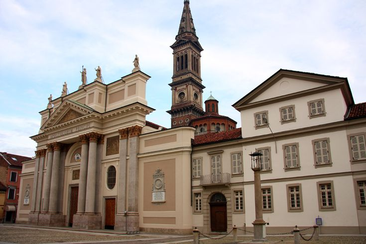 Cathedral of Alessandria, which is called Cathedral of Saint Peter and Saint Mark, is the main local church of Italy.