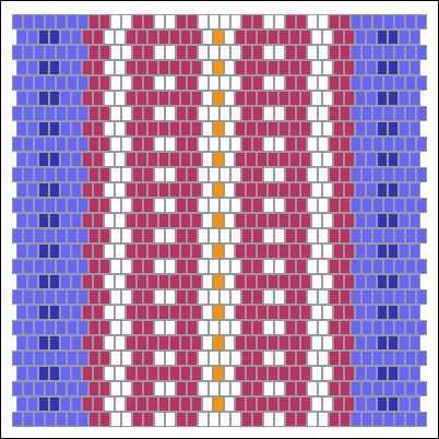 A fun tool that lets you create custom inkle loom designs.  Your design is automatically converted into a printable pattern which you can use to warp your loom.