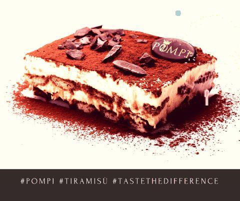 #tastethedifference #homemade #dailyfresh #pompi #chocolate #tiramisù