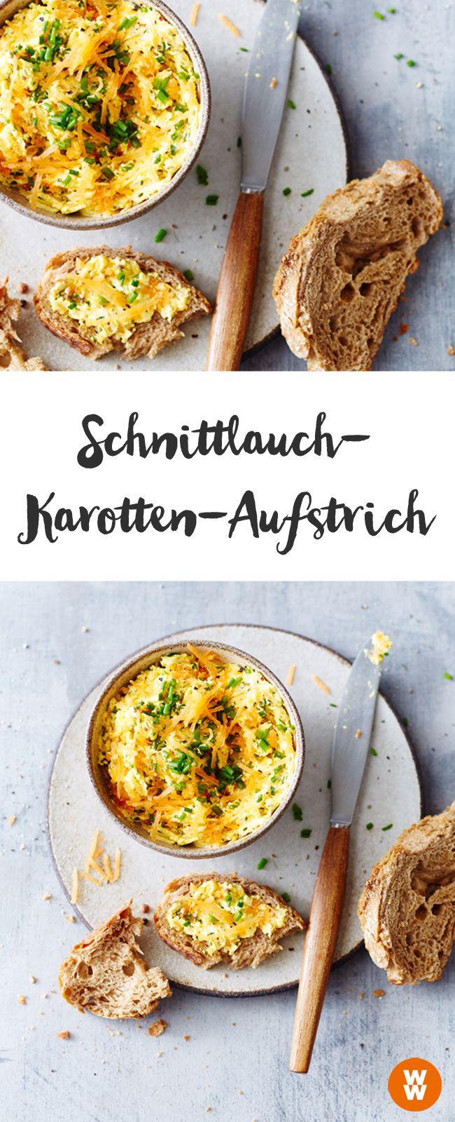 Schnittlauch-Karotten-Aufstrich, Brotaufstrich | Weight Watchers