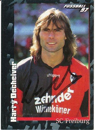 Harry Decheiver - SC Freiburg
