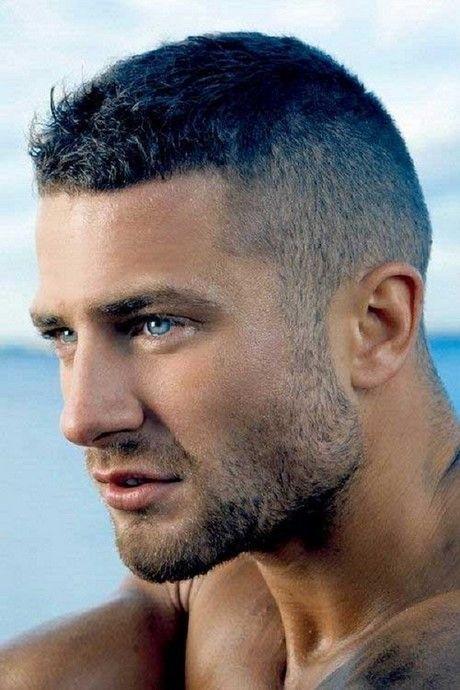 Kurzes Haar Schneidet Männer Profile Left Hair Styles Short