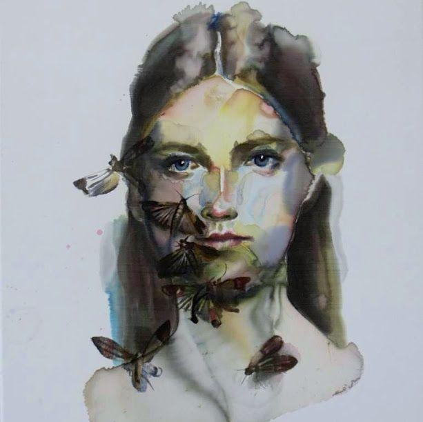 moths portrait painting - Google Search