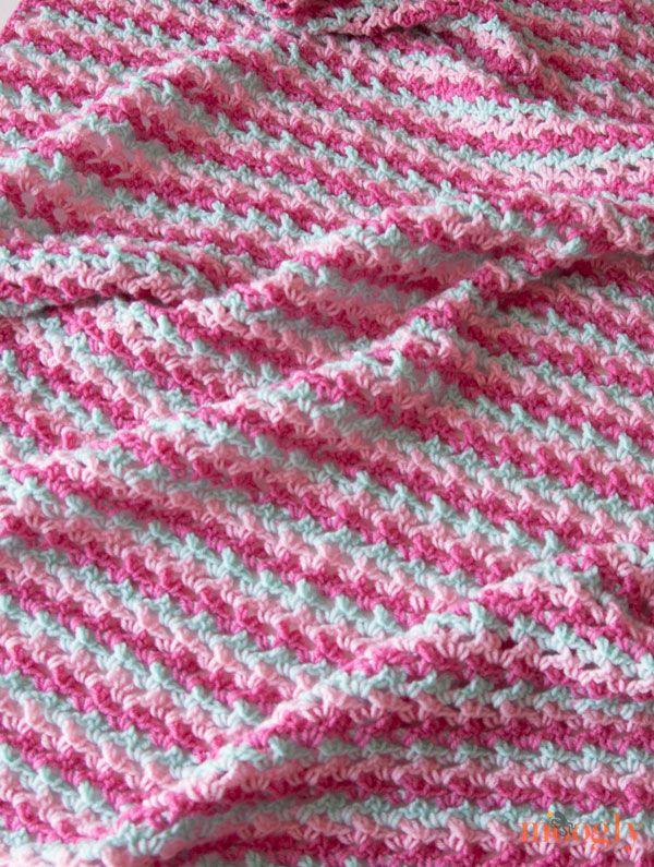 214 Best Blanketsafghans To Knitcrochet Images On Pinterest