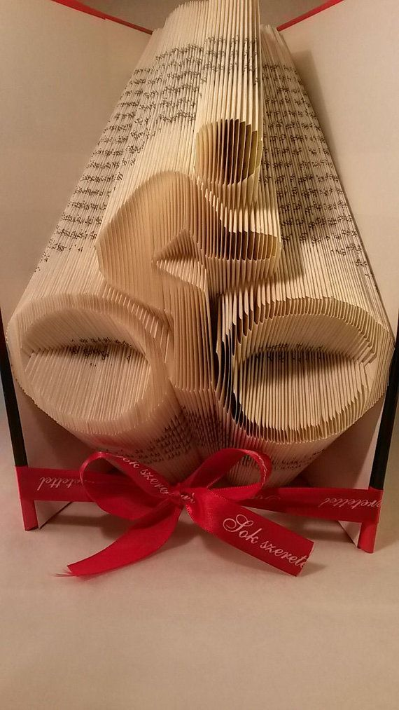 Biker Silhouette Folded Book Art - Book Sculpture  - Sport lover - Bicycle lover - healthy life - Cycle - Moped - Motor - E49