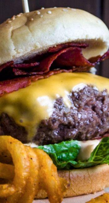 Bacon Chipotle Stuffed Cheeseburger Recipe
