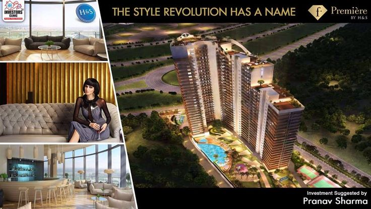 H&S in association with Fashion TV presents F-Premiere, a residential hub overlooking motor racing track on Yamuna Expressway.  #realestate #housing #expressway