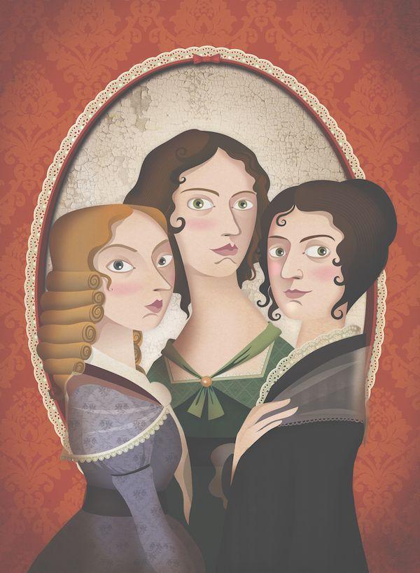 A gift for Women's Day: Good Night Stories for Rebel Girls | book | Le sorelle Brontë | Elisabetta Stoinich