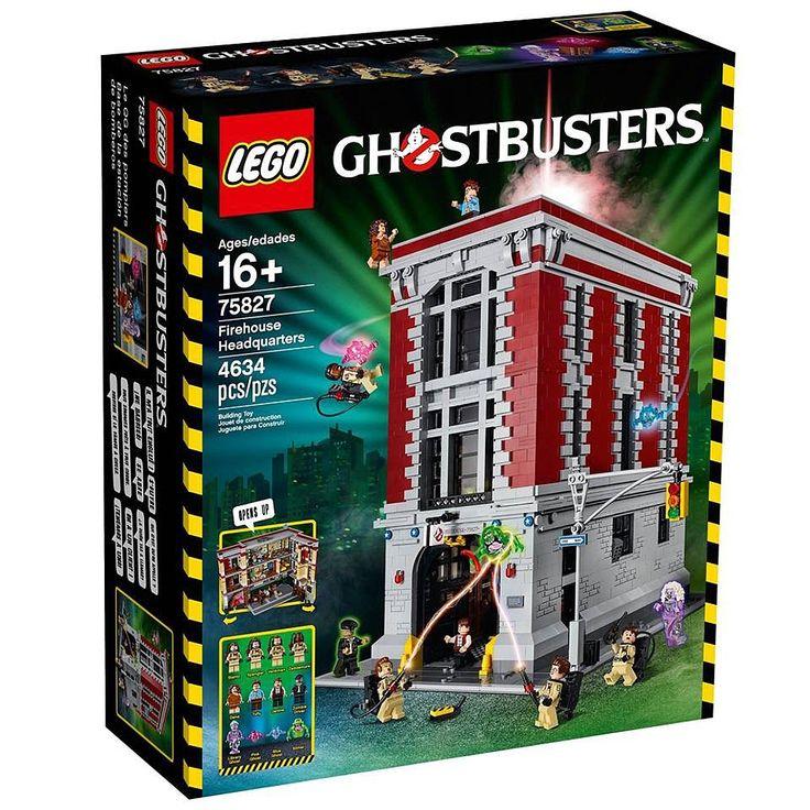 """LEGO - Base de la Estación de Bomberos - 75827 - Juegos de Construcción - Juegos de Construcción - Toys""""R""""Us"""