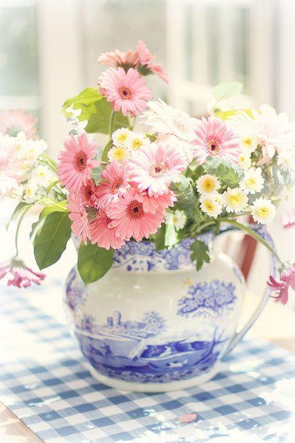 queenbee1924:  (via sweet posies via ❤ Pink & Navy Blue ❤ | Pinterest)