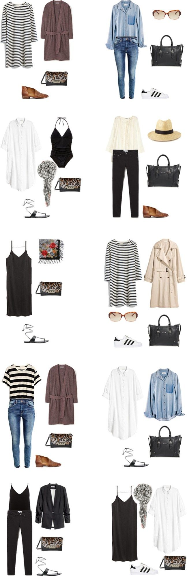 What to Wear in Italy and on a Mediterranean Cruise Outfit Options 21-30 #travellight #packinglight #traveltips #travel