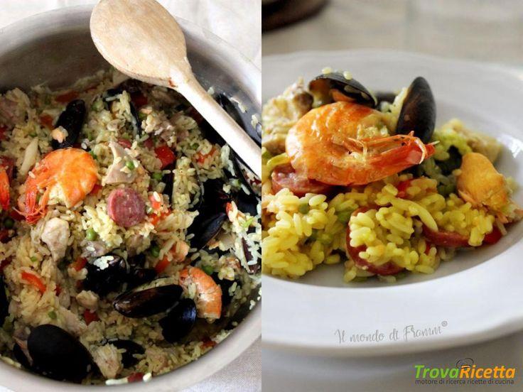 La mia ricetta della paella  #ricette #food #recipes