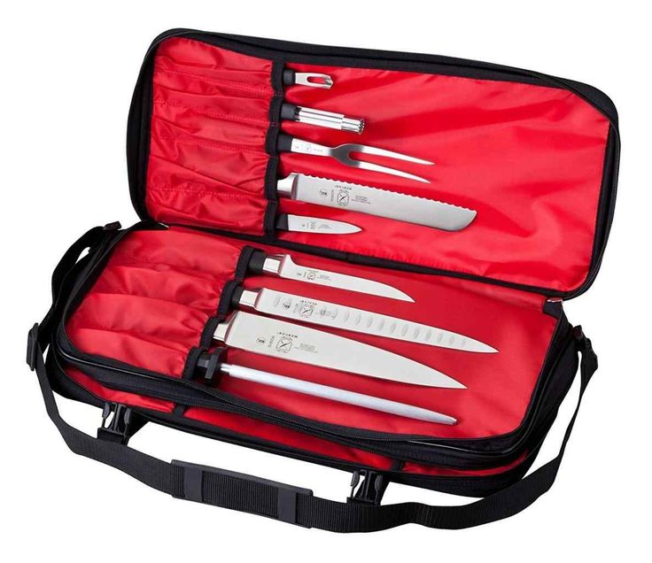 New chef knife set with bag at x7572.info