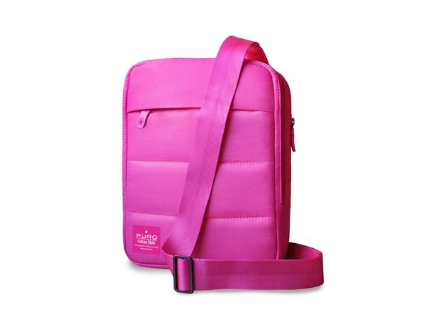 "Τσάντα PURO MESSENGER 2 για tablets με οθόνη ως 10.1"" ροζ -  tablet case pink puro accessories fashion handbag"