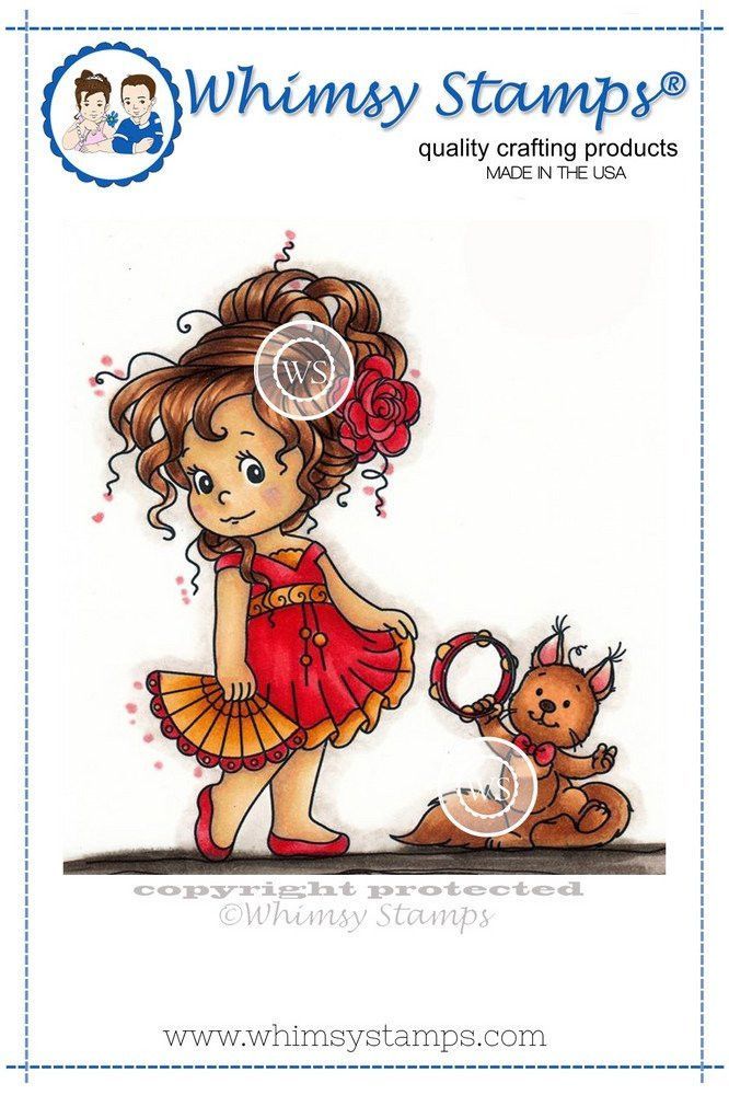 Whimsy Stamps-Loli's Dance