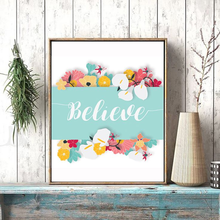 Un favorito personal de mi tienda de Etsy https://www.etsy.com/es/listing/540297340/believe-printable-art-quote-decorative