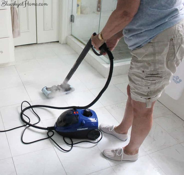 Best way to clean grout without breaking your back grout