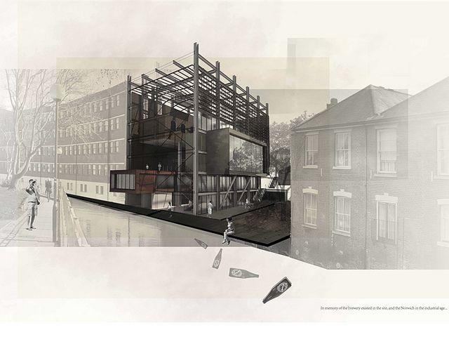 Urban Intensification, Design Project 2 Jing Peng 2012