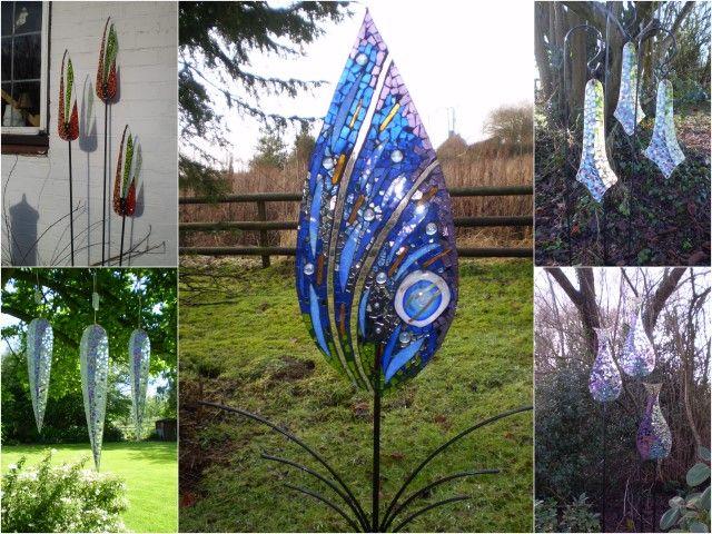 Katie Green Mosaic Glass Sculptor from THE Gardening WEBSITE