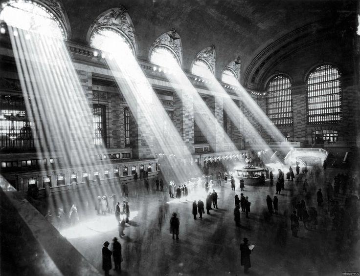 Grand central, NYC, 1929