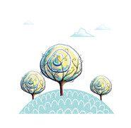 'Three Trees' Full Stationary Package-Printable PDF Set of 6