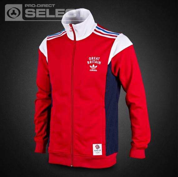 adidas Team GB TT - adidas Originals - Mens Select Clothing - Light Scarlet-White