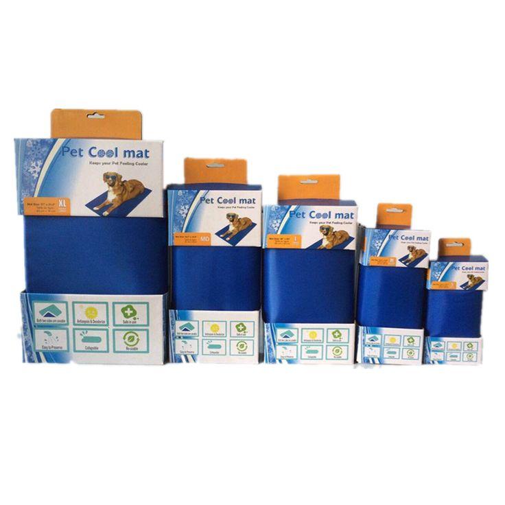 Best selling waterproof soft pet cooling gel pad, dog ice cool mat, gel pet cooling mat