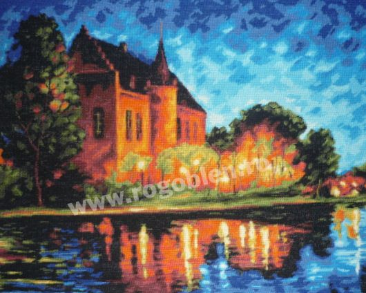 Cod produs 8.25 Castel in noapte Culori: 28 Dimensiune: 30 x 37cm Pret: 77.38 lei