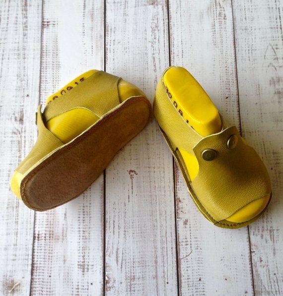 sandálias infantis solado macio sandálias de bebê de couro macio por Huggabies