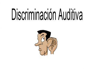 Discriminación Auditiva Adivinamos que esta sonando