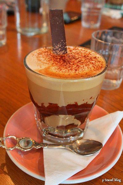 Yummy Mocha at Shaky Isles Cafe in Auckland, New Zealand