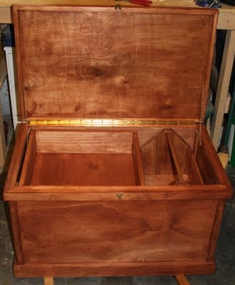How to build a tack trunk! :D Would make a great toy box too!