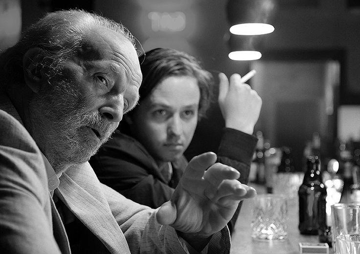 """Michael Gwisdek + Tom Schilling in """"Oh Boy"""" von Jan-Ole Gerster (2012)"""
