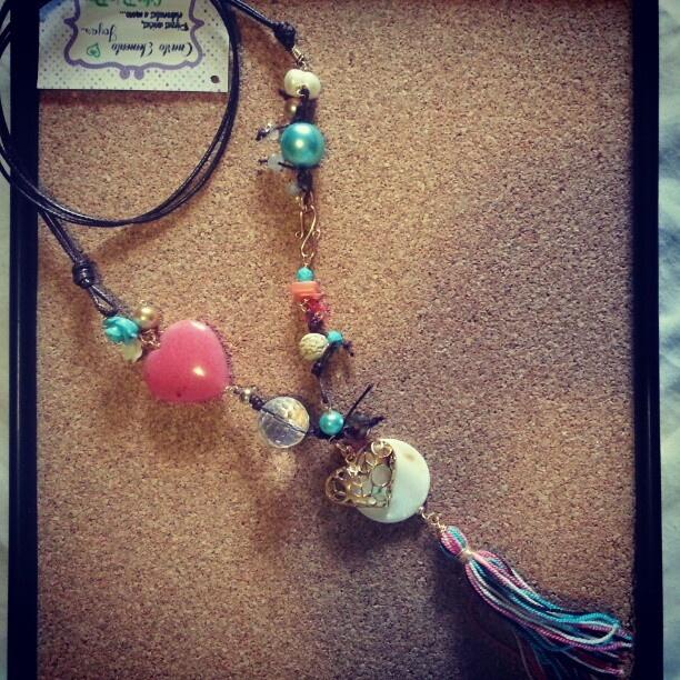 #Collar #hippy #style de Cuarto Elemento joyas