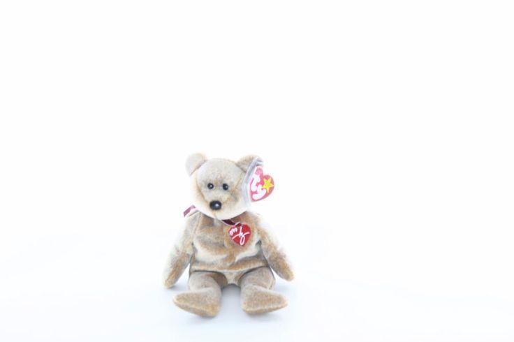 Ty Beanie baby bean bag plush stuffed animal 1999 signature teddy bear