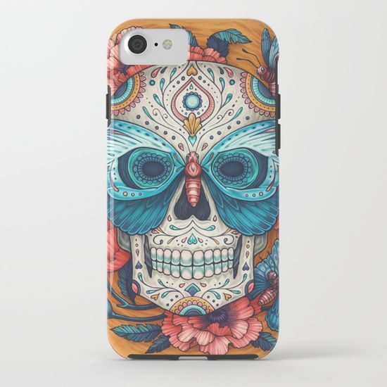 Society6   $38.00   Our Tough Cases are constructed as a two-piece, impact resistant, flexible plastic case with an extremely slim profile and extra shock dispersion. A flexible rubber liner provides a secure fit and feel without compromising style. Simply snap the case onto your phone for premium protection and direct access to all device features.