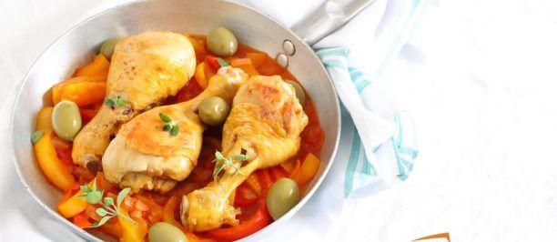 Ricetta pollo ai peperoni