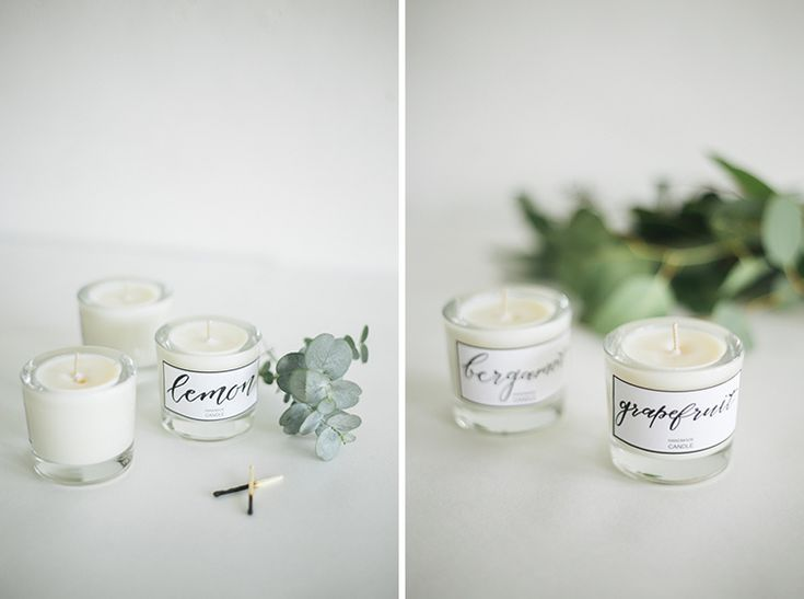 DIY Soy Wax Candles // Simple + Beyond