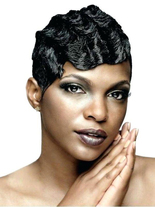 91 Stilvolle Finger Wellen Frisuren Und Wie Es Geht Alles Fur Die Besten Frisuren Hair Waves Finger Waves Black Hair Short Hair Styles