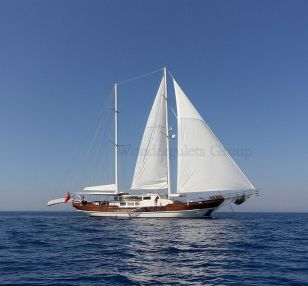 Luxury wg kq 001 gulet charter Greece Turkey 34meters