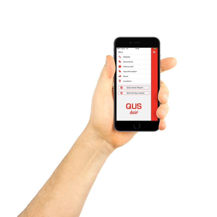 QUS Assist iOS & Android App development. Strata Insurance app with claims notification tools.