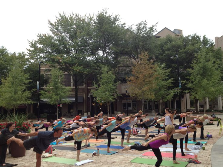 Free yoga class at NOMA Square THIS Saturday June 28 at 8:30am! #yeahTHATgreenville http://nomasquare.com/
