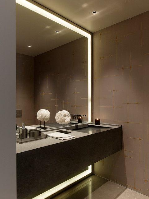 Bath by Sutro Architects http://www.houzz.com/photos/2110797/Taylor-Street-High-rise-Apartment-contemporary-bathroom-san-francisco