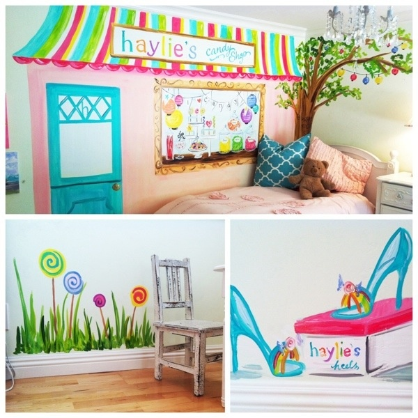 Candyland room by timree yes that is a personalized for Candyland bedroom ideas